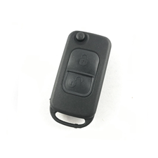 Picture of KR55 2-Button Remote Flip Key HU64 blade